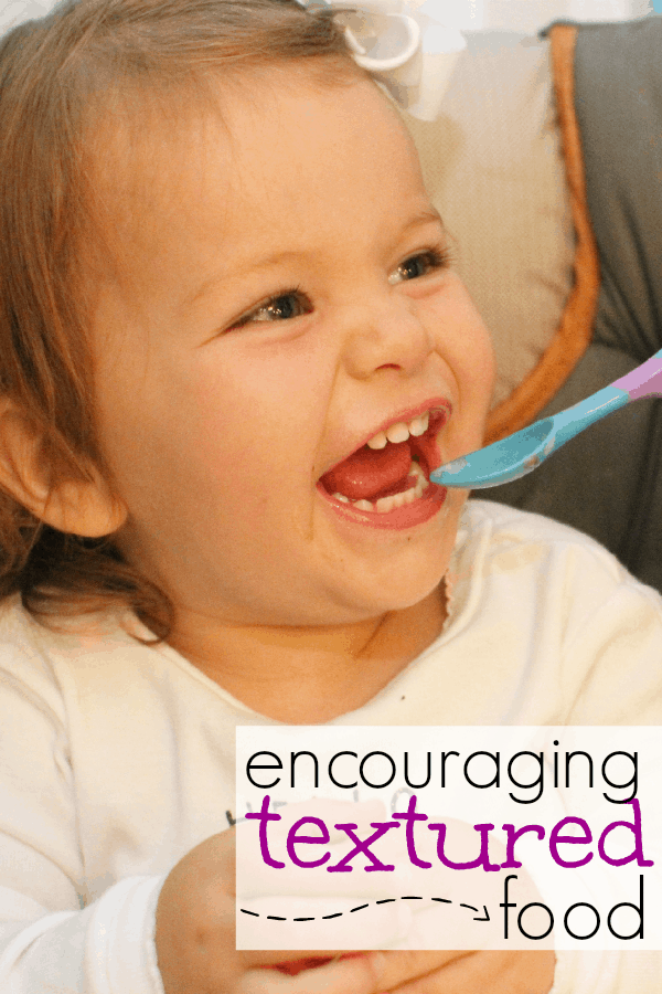 Encouraging Textured Food for Babies