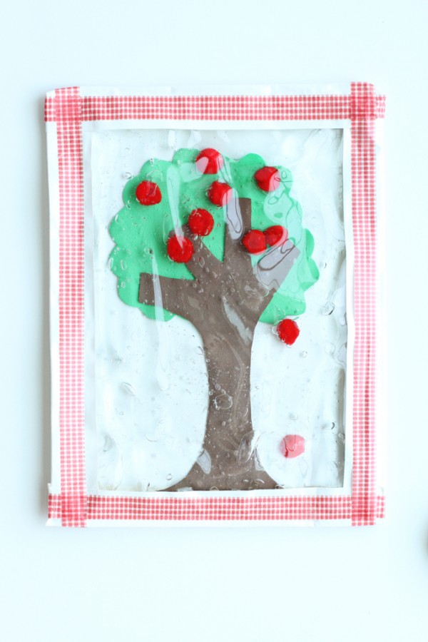 Apple Tree Sensory Bag