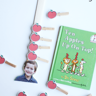 Ten Apples Up on Top Fine Motor Activity
