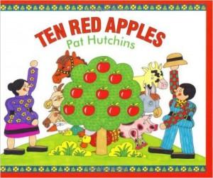 Ten Red Apples Book