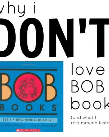 Bob Books:  Why I Don't Love Them For Reading
