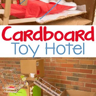 Create a Cardboard Toy Hotel