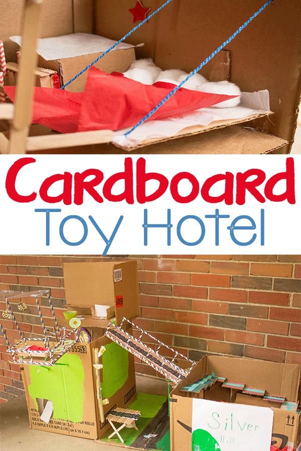 Cardboard Toy Hotel