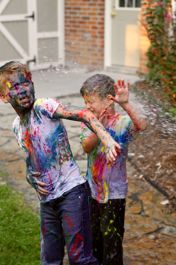 How To Take Paint Fight Photos Without Ruining All Your
