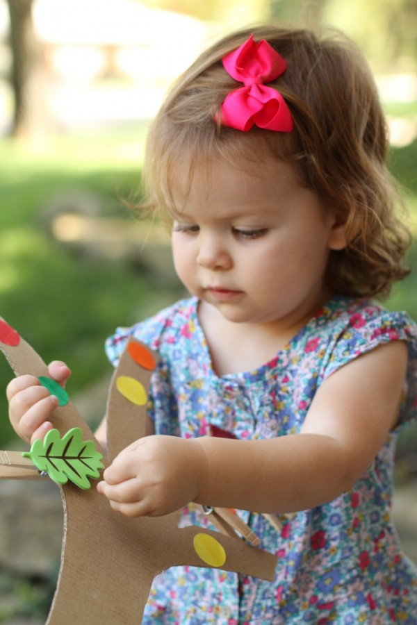 Color Leaf Match for Toddlers