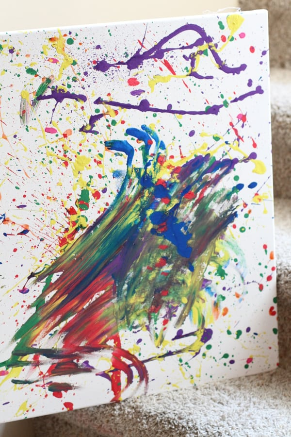 Paint Fight Canvas