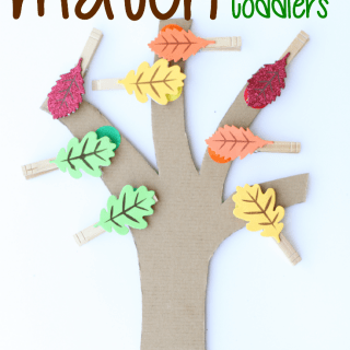 Leaf Color Match for Toddlers
