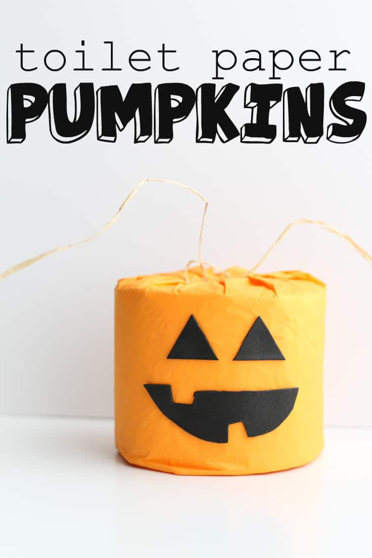 Toilet Paper Pumpkins I Can Teach My Child