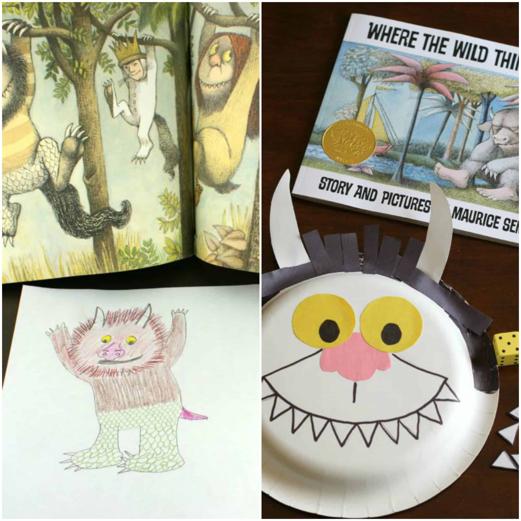 Where the wild things are crafts and activities i can teach my child