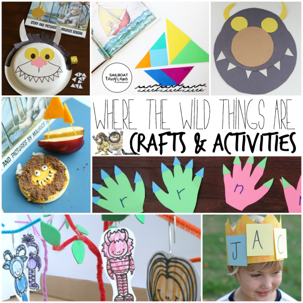 Manualidades para trabajar Where the wild things