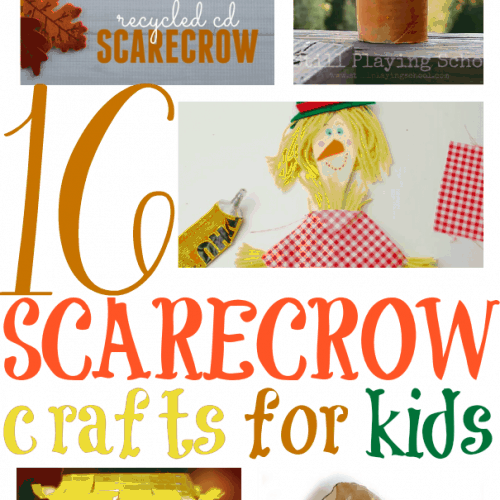 16 Scarecrow Crafts for Kids