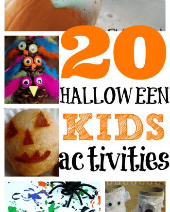 20 Halloween Activities for Kids