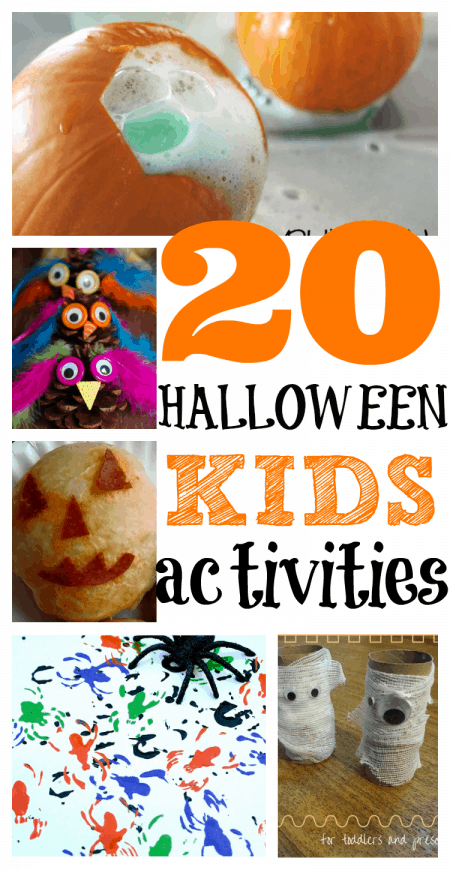 20 Halloween Activities for Kids