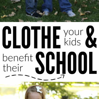 Buy Inexpensive Clothes and Earn Money for Your Child's School