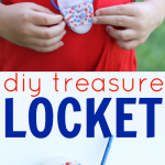 DIY Treasure Locket from a Dental Floss Container
