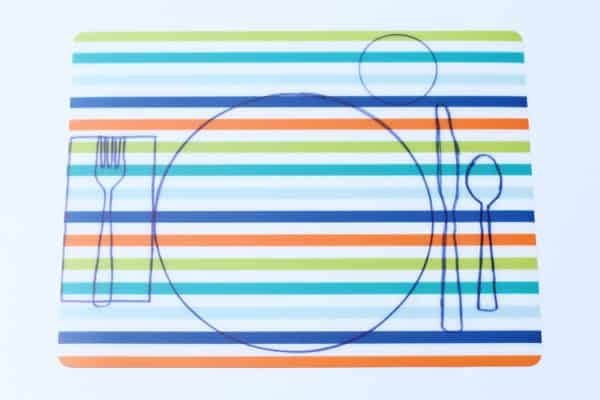 DIY Table Setting Placemat