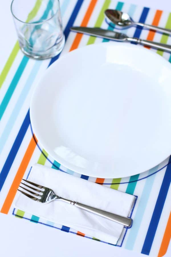 DIY Table Setting Placemat  sc 1 st  I Can Teach My Child! & DIY Table Setting Placemats - I Can Teach My Child!