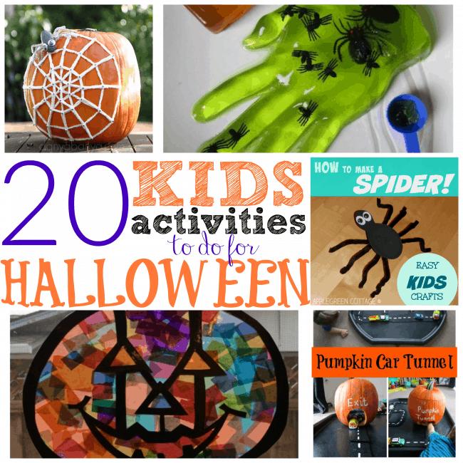 Kids Halloween Activites