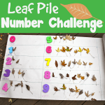 Leaf Pile Number challenge new