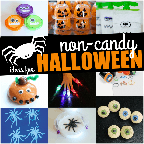 Non-Candy Ideas for Trick-Or-Treaters on Halloween