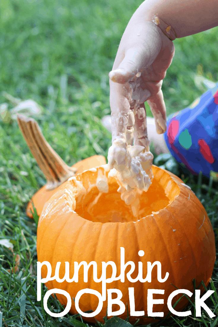 Pumpkin Oobleck I Can Teach My Child