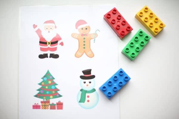 LEGO Christmas Puzzles