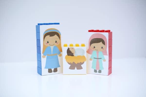 LEGO Nativity Puzzles