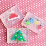 Perler Bead Christmas Soap