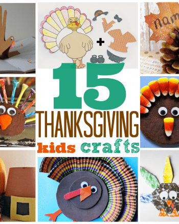15 Thanksgiving Kids Crafts
