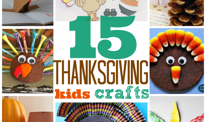 15 Creative Thanksgiving Crafts