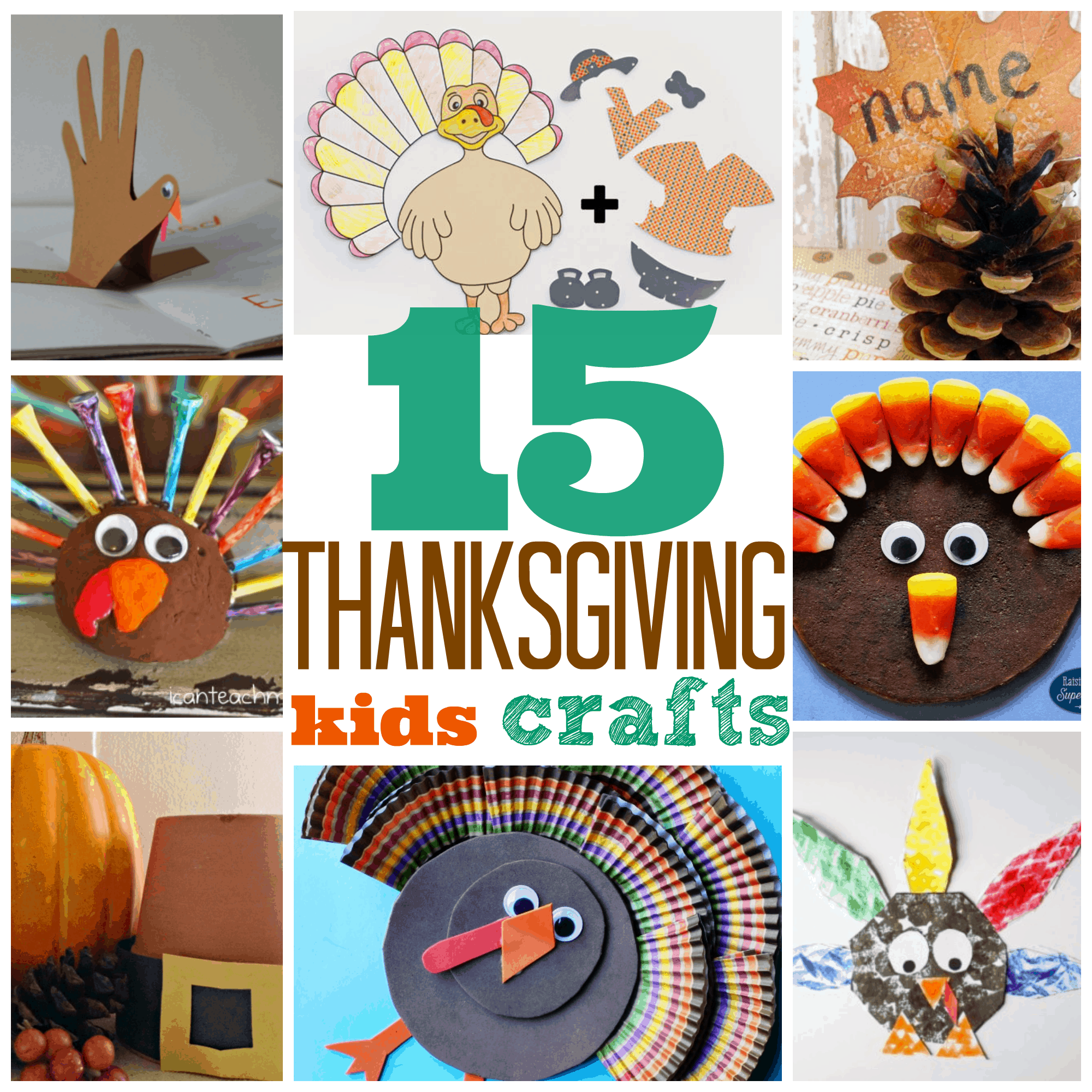 15 Thanksgiving Crafts for Preschoolers and Kindergarten - photo#31