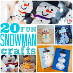 20 Fun Snowman Crafts