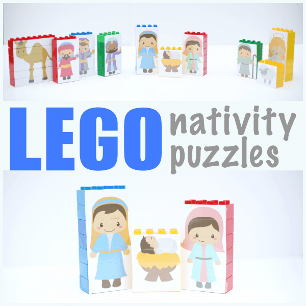 Awesome LEGO Nativity Puzzles