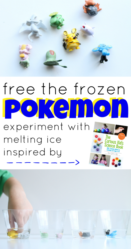 Free the Frozen Pokemon Experiment with Melting Ice