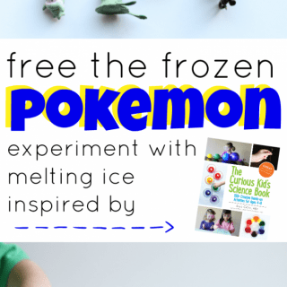 Free the Frozen Pokemon:  Experiment with Melting Ice