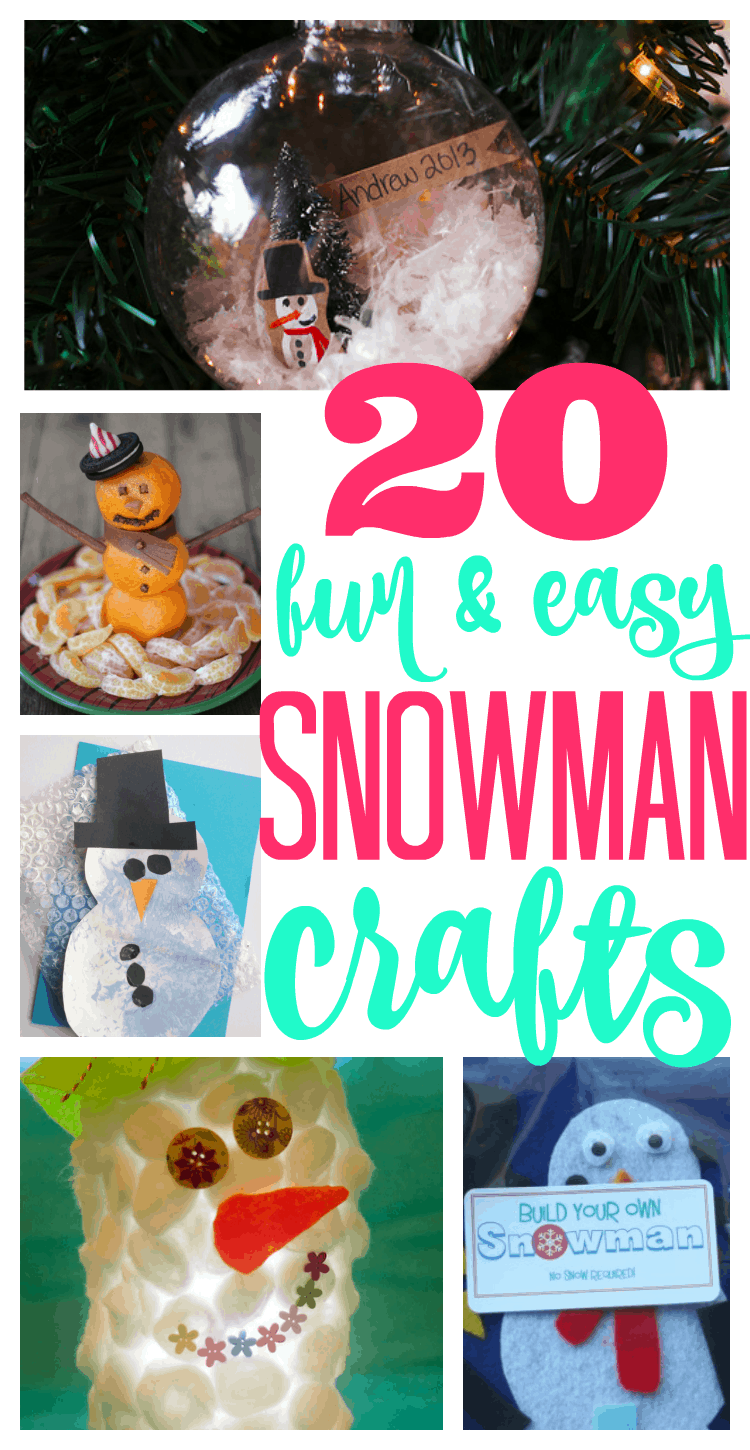 Fun and Easy Snowman Crafts