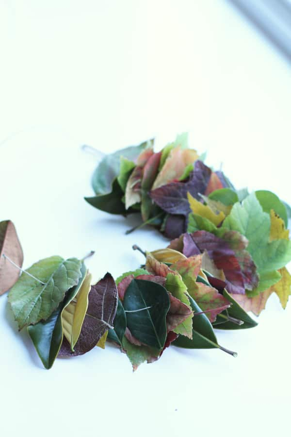 How to Make a Leaf Lei