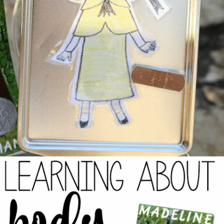 Learning about Body Parts with Madeline