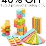 40% off TEGU Products Today Only On Amazon
