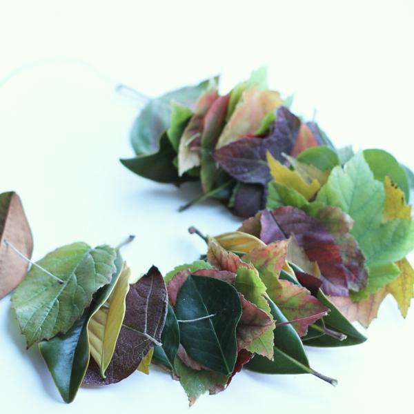 leaf lei