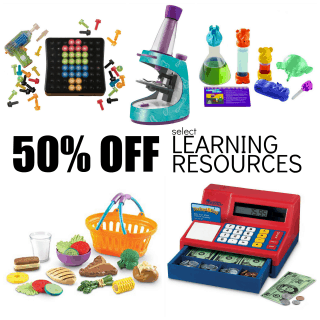 50% Off Learning Resources Toys Today Only (11/19)