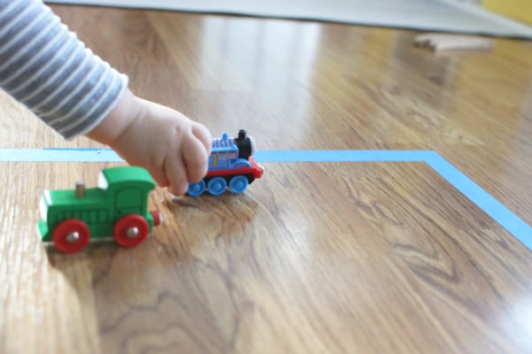 Tracing Shapes with Trains