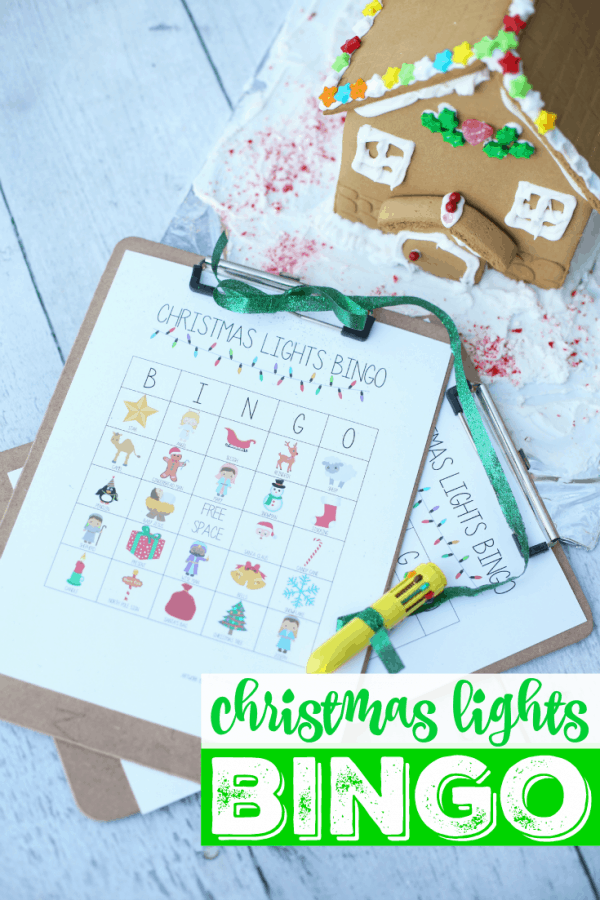 Christmas Lights Bingo