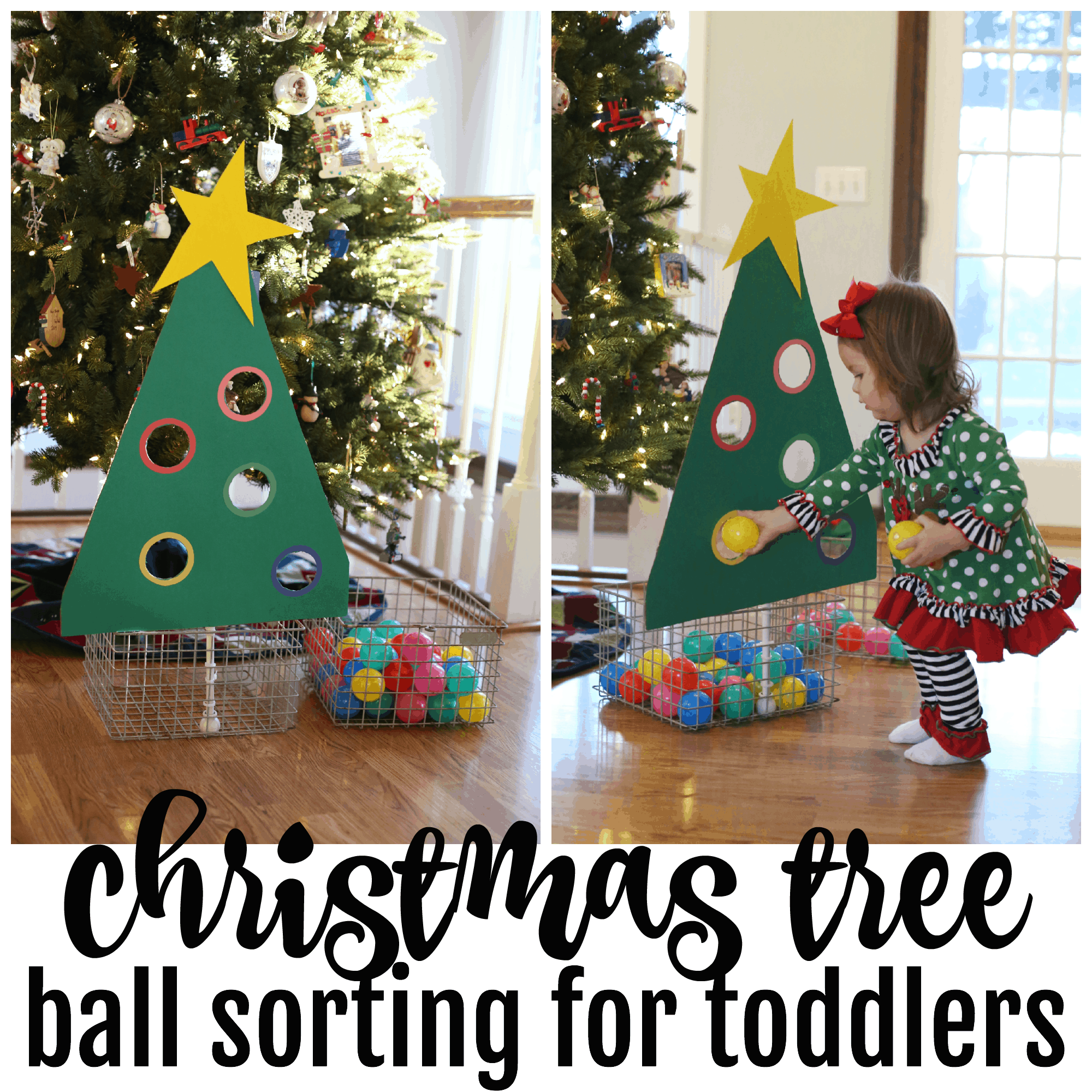 Christmas Tree Ball Colors : Christmas tree ball sort for toddlers i can teach my child