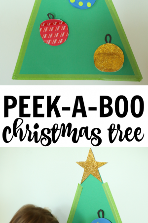 Peek-a-Boo Christmas Tree