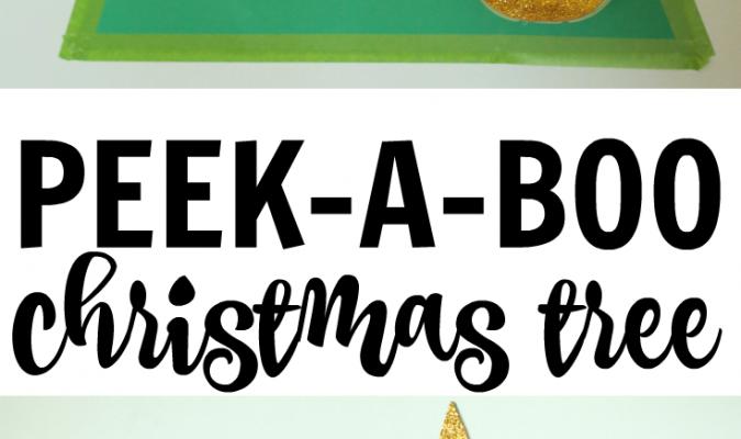 Peek-a-Boo Christmas Tree