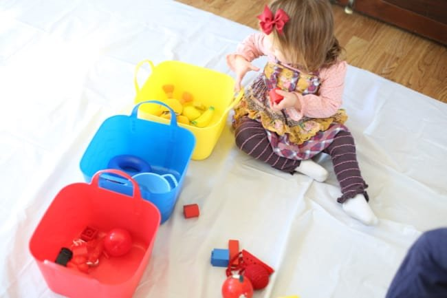 Sorting Toys by Color Activity for Toddlers - I Can Teach ...