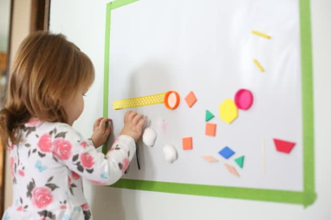 Ideal Sticky Mural for Toddlers