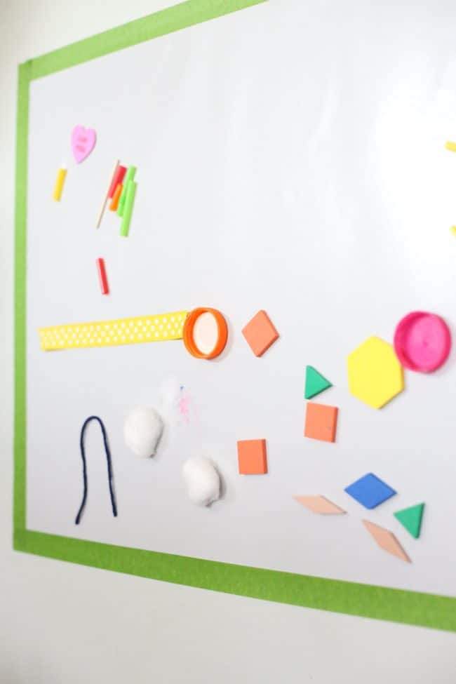 Sticky Mural for Toddlers