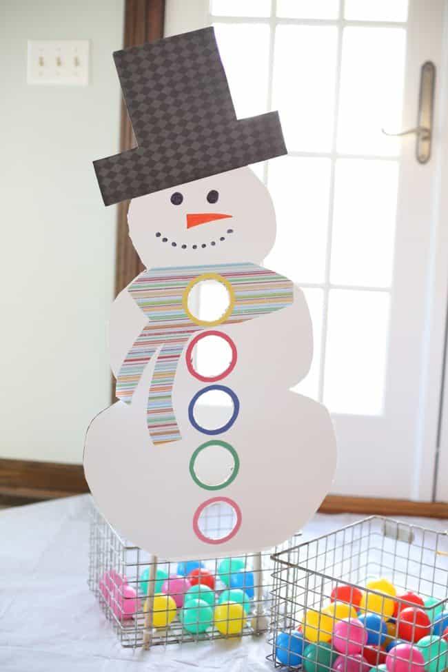Snowman Ball Drop